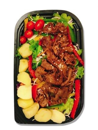 Salad Bò Úc Áp Chảo
