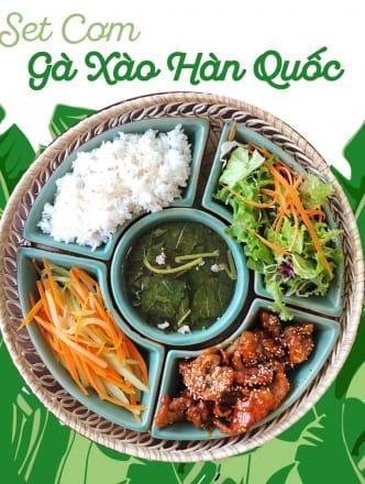 Korean Chicken Rice (Sweet & Spicy)