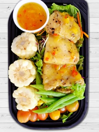 Salad Cá Basa Sốt Dứa