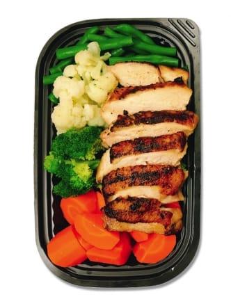Salad Hi Protein Đùi Gà Teriyaki